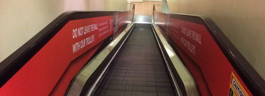 escalator wraps